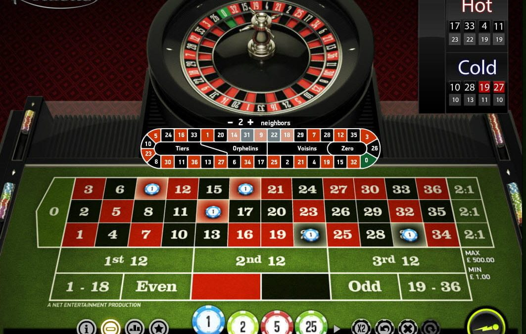 Rules of Roulette UK